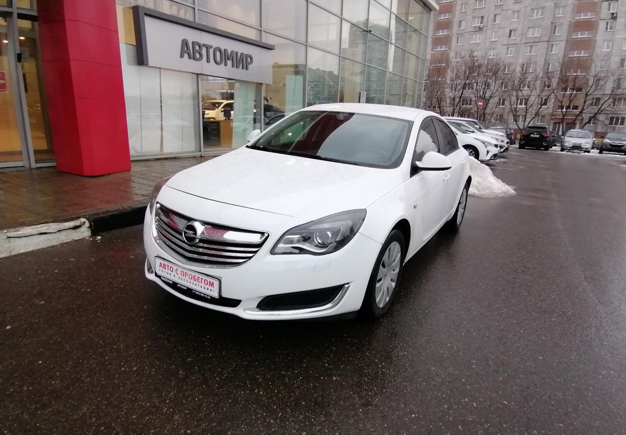 Opel Insignia Sedan 2013 - 2017